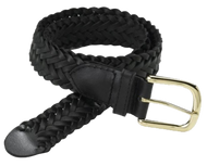 Belt - Braided - Black