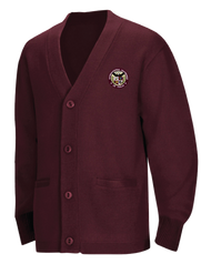 ILT - Cardigan Sweater - Burgundy