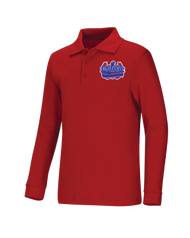 HPA - Polo Long Sleeve - Red