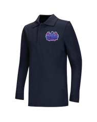 HPA - Polo Long Sleeve - Navy