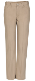 HPA - Pants Girls Flat Front - Khaki