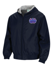 HPA - Hooded Nylon Jacket - Navy