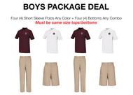 ILT - Boys Package Deal - Husky Sizes