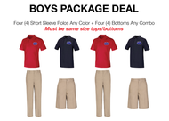 HPA - Boys Package Deal -- Sizes 7-16