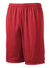 WLI PE Shorts Red