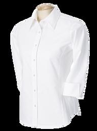 OLV - Oxford Girls 3/4 Sleeve - White