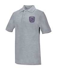 Stem - Polo Short Sleeve - Grey