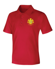 Spellmon - Polo Short Sleeve - Red