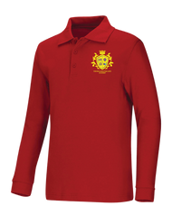 Spellmon - Polo Long Sleeve - Red