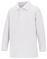 WCA - Polo ECE Long Sleeve - White