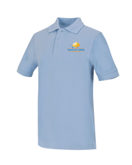 WCA - Polo Short Sleeve - Lt Blue