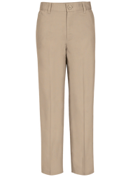 Idea - Pants Boys Flat Front - Khaki