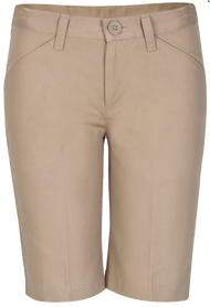 Idea - Shorts Girls Flat Front - Khaki