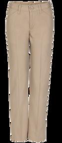 Idea - Pants Girls Flat Front - Khaki