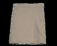 Idea - Skort with Side Pleat - Khaki