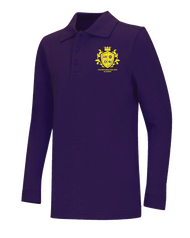 Spellmon - Polo Long Sleeve - Purple