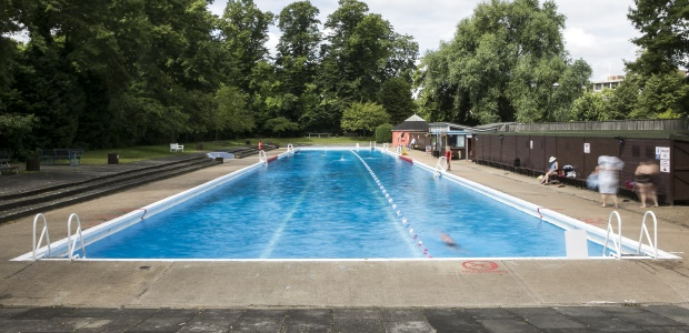 Great lidos outside london blackfish swimwear Swimming pools in cambridge uk