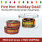Buy 2 Burnies and get the Burnie-Q Collapsible Grill Grate Free plus FREE SHIPPING. Makes the perfect Holiday gift for your outdoor cook.
