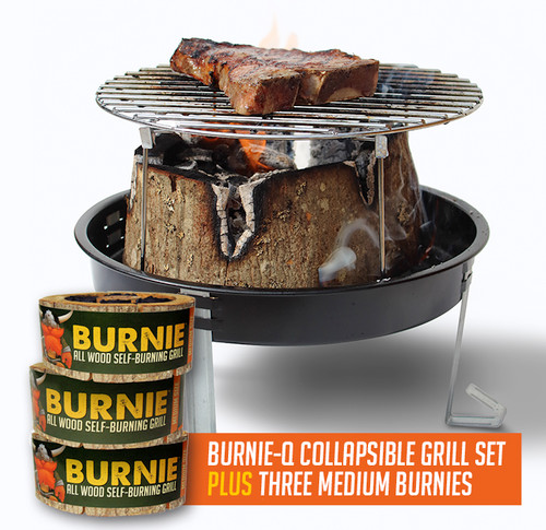 Simple to use and environmentally friendly, Burnie Grill uses no chemicals and makes food taste better!