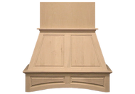 "NWA Signature 42"" Double Arched Panel Hood, Maple NWA-DWHRP02-42M"