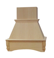 "Castlewood 48"" Acanthus Chimney Hood, SY-WCHAC48"