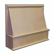 """Castlewood 30"""" x 36"""" Shaker Style Wood Range Hood Front, SY-JSKHF3036"""