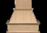 "NWA Signature 30"" Traditional Chimney Style Range Hood with added molding, NWA-DWH30"
