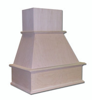 "Castlewood 48"" Traditional Chimney Style Range Hood, SY-WCH48"