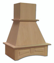 """Castlewood 30"""" Arched Valance Chimney Style Range Hood, SY-WCHAP30"""