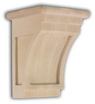 Extra Small Mission Revival Style Corbel, SY-CA-64