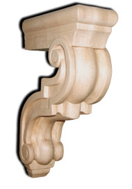 Traditional Open Countertop Support Bar Bracket, SY-CA-10-O