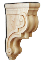 Traditional Solid Countertop Support Bar Bracket, SY-CA-10-S