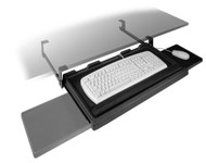Fulterer Keyboard Tray Pull-Out with Slide-Out Mouse Tray FR1602