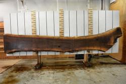 Walnut Live Edge Wood Slab - WAL101 - 196x24x2.5 - side 2
