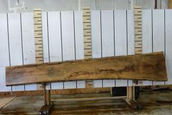 French White Oak Live Edge Wood Slab - FWO001- 144x21x1.125 - Side 2