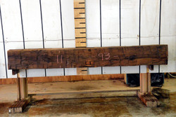 Reclaimed Antique White Oak Beam - AWOB002 - 93x11x8 - Side 1