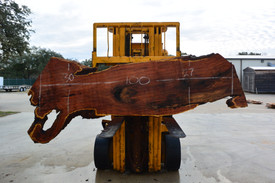 Mesquite  Live Edge Wood Slab - TM307 - 100x29x1.5 - Side 1