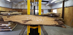 Mesquite Live Edge Wood Slab - TM301 - 87x17x2.5 - Side 2