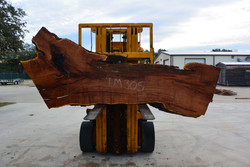 Mesquite  Live Edge Wood Slab - TM305 - 100x37x2.25 - Side 2