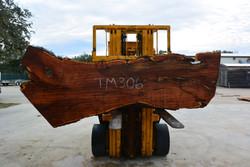 Mesquite  Live Edge Slab - TM306 - 104x35x3 - Side 2