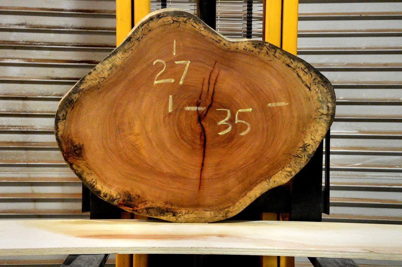 Almendrillo Live Edge Wood Slab - OH17299 - 35x27x2