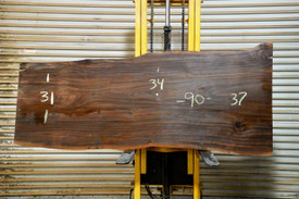 Pilon  Live Edge Slab - OJ19384 - 90x34x3 - Side 1