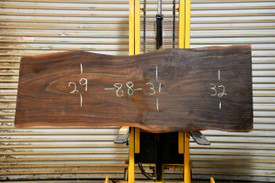 Pilon  Live Edge Slab - OJ19385 - 88x31x3 - Side 1