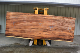 Monkey Pod  Live Edge Slab - PJ19728 - 144x51x2.75 - Side 1