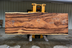 Monkey Pod  Live Edge Slab - PJ20136 - 140x47x3 - Side 1