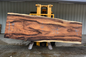 Monkey Pod  Live Edge Slab - PJ20137 - 139x44x3 - Side 1