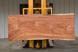 Monkey Pod (Cinicero) Live Edge Slab - J21195A - 98x39x3 - Side 1