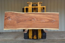 Monkey Pod (Cinicero) Live Edge Slab - J21197 - 114x36x3 - Side 1