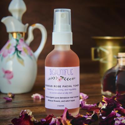 Hibiscus Rose Facial Toner