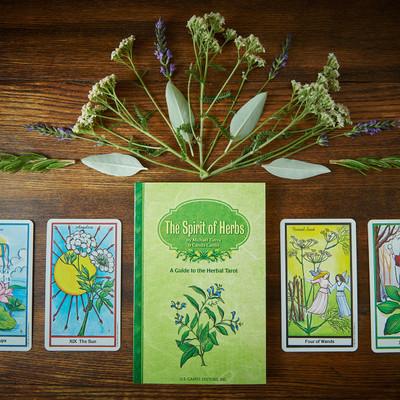 Herbal Tarot Book